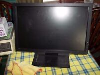 """DELL 17"""" LCD MONITOR MODEL E1709Wc FULLY WORKING AND VERY GOOD CONDITION (2 OF THESE)"""