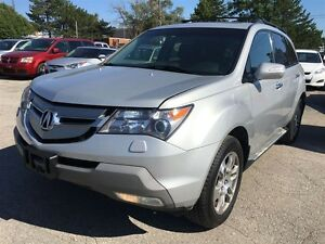 2009 Acura MDX TECH PKG/NAVIGATION/BACKUP CAMERA/ALLOYS/AWD/7 PA
