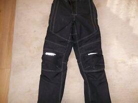 Spada waterproof padded motorcycle trousers