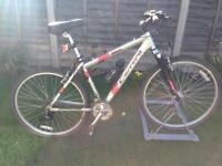 "Men's 19""inch Frame Carrera Vulcan Front Suspension Mountain Bike £120.00"