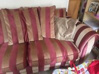 Very comfortable 3 seater sofa