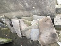 Lovely grey reclaimed flagstones. Various Sizes.