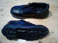 Black ARCO safety shoes size 11