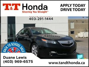 2013 Acura TL Tech Pkg *Navi, Rear Camera, LOW KM's!*