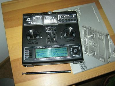 Graupner Sender MC 19 35 Mhz  mit Akku