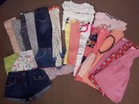 Bundle of Girl's clothes - 4-5 years