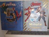 2 Marvel reading books