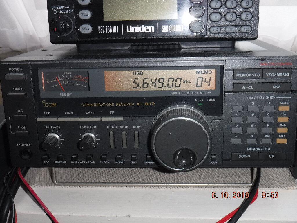 Icom IC-R72 Communications Receiver | in Exeter, Devon | Gumtree