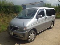 Mazda Bongo multi van (low millage) PRICE DROPPED! like vw t4 t5