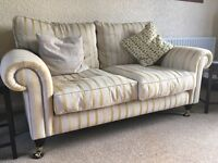 Laura Ashley Fabric Sofa