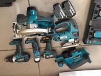 Makita LXT 18v cordless combo tool kit