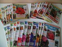 36 Gardeners' World magazines