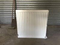 Nearly new - white - white radiator