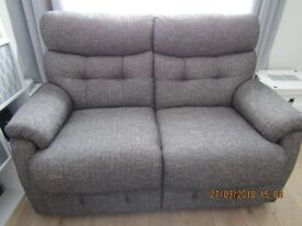 TWO SEATER SOFA/SETTEE. EXCELLENT CONDITION