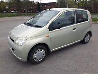 Daihatsu charade 1.0 el, low mileage, £30 tax, needs clutch.