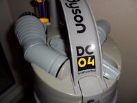 DYSON DC04 VACUUM CLEANER. RECONDITIONED. GOOD WORKING ORDER