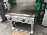 GAS FLAT GRILL CATERING COMMERCIAL CAFE KEBAB CHICKEN BBQ SHOP