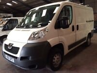 2011 (61) PEUGEOT BOXER 2.2 330 SWB ONE OWNER FROM NEW, READY TO GO TO WORK NO VAT