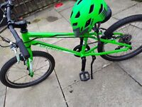 Brand New children's 20inch Specialized Hotrock bike with brand New Bell helmet.