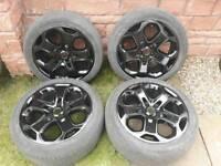 Genuine Ford st alloy wheels 18 inch pcd 5x108