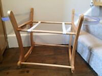 Mama's and Papa's rocking moses basket stand