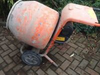 240v Bell Cement Mixer with stand