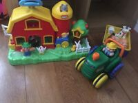 Little Tikes Farm and Tractor with animals - Great condition