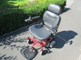 Shoprider Electric Wheelchair - nearly new