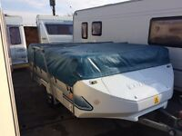 conway cruiser very good condition 2000 model full size awning, 6 berth,