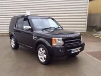 2007 LAND ROVER DISCOVERY TDV6 HSE AUTO BLACK*FULLY FULLY LOADED,7 SEATER**high miles**need tlc
