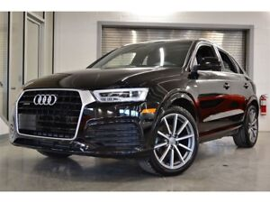 2017 Audi Q3 2.0T Technik *IMPECCABLE*