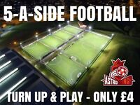 Players wanted for casual 5-a-side kickabout