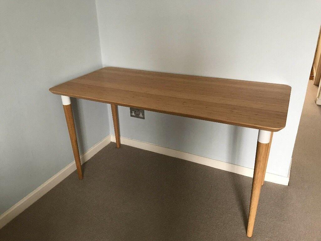 Desk ikea hilver in chelsea london gumtree