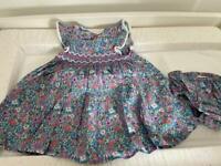Baby girls 6-9 month Next floral dress