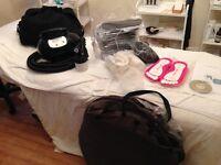 Professional 'SUNJUNKIE' Spraytan Kit with Pop-up Tent & Extractor Fan