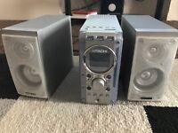 CD player hifi system