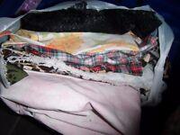 bundle of fabric