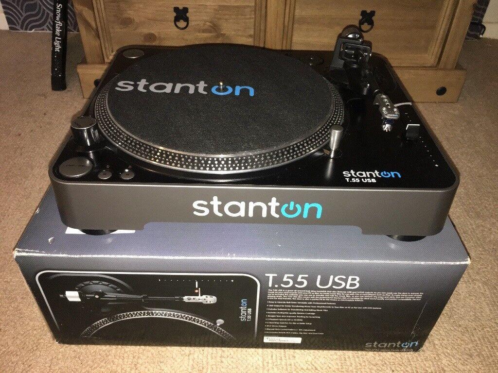 STANTON T.55 USB BELT DRIVE