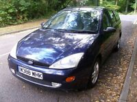 ESTATE, FORD FOCUS 1.8 ZETEC ESTATE, SUPERB.