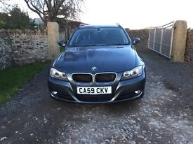 BMW 318d SE Touring Estate Diesel Manual 80k reg 2010 (59 Plate) Tow Bar Parking Sensors