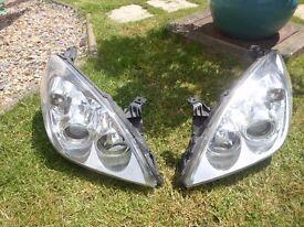 vauxhall vectra new shape headlights