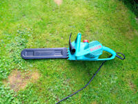 Electric Chain Saw Bosch (Only used once)