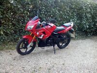 125 motorbike Lexmoto (2016)
