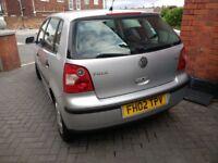 2002 VW Polo 5 door 1.4 best offer