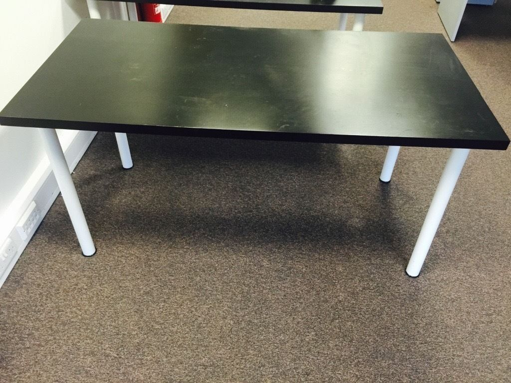 Large Black Ikea Desk For Sale In Bristol City Centre Stylish Black Table
