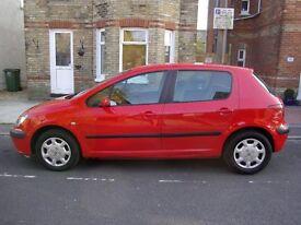 AUTOMATIC PEUGEOT 307 1.6 GLX 2002 (51) NEW MOT