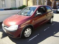 AUTOMATIC VAUXHALL CORSA 1.2 CLUB NEW MOT