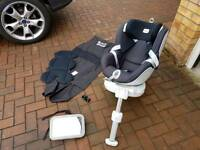 Britax dualfix ISOFIX baby/ child car seat. Worth the money..read up about it