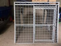 Custom Made Dog Cage for 4x4 / SUV / Jeep - Hot Dipped Galvanised. Ex Quality