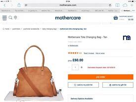 Changing Bag Mothercare